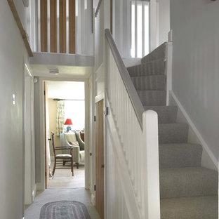 Aménagement d'un escalier campagne.
