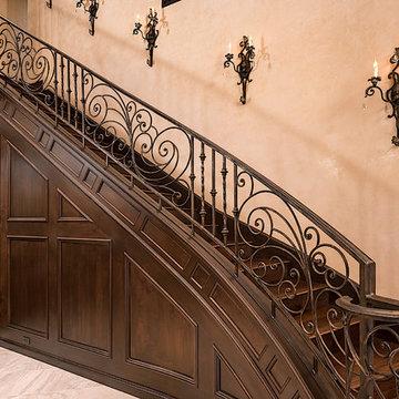 Award Winning Stairs designed by Fratantoni Interior Designers!