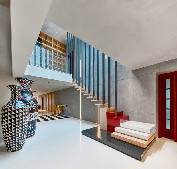 Contemporary Staircase by Fadd Studio