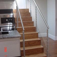 Modern Staircase by LG Hewitt Custom Builders