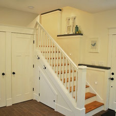 Traditional Staircase by 12th Ave Homes, LLC