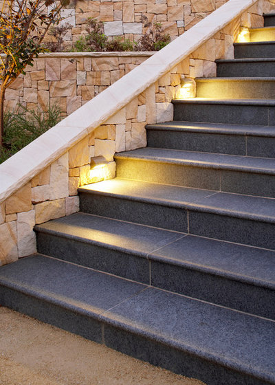 Contemporary Staircase by Space Landscape Designs