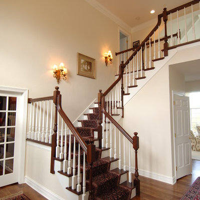 Boston.com - Staircase Photos Nickel Sconce Design, Pictures ...