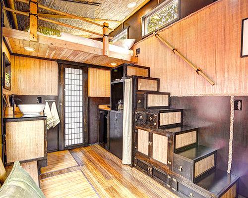 asiatische treppen ideen f r treppenaufgang. Black Bedroom Furniture Sets. Home Design Ideas