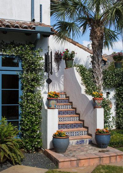 地中海 階段 by Thompson Custom Homes