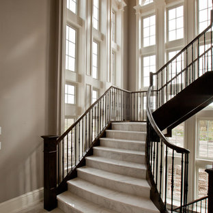 Marble Stairs Houzz