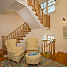 Farmhouse Staircase by Phinney Design Group
