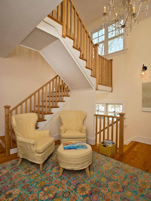 Open Basement Stair Houzz