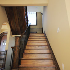 Craftsman Staircase by Design Loft at Simcoe Building Centre