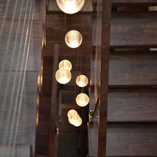 Modern Staircase by Sagatov Design-Build