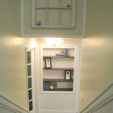 Traditional Staircase by Your Favorite Room By Cathy Zaeske
