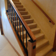 Traditional Staircase by Fein Design