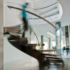 Modern Staircase by Battig Design
