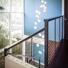 Contemporary Staircase by AND Interior Design Studio