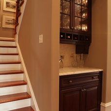 Traditional Staircase by Amy Tyndall Design
