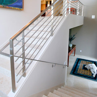 75 Most Popular Modern Tile Staircase Design Ideas For 2019