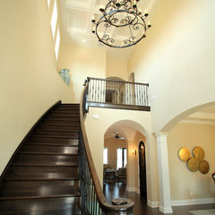 mediterranean entry by Devonshire Custom Homes