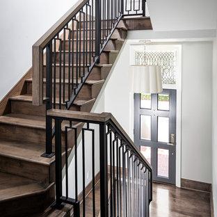 Foto på en trappa