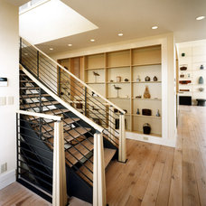 Beach Style Staircase by Wright-Ryan Homes