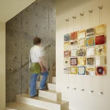 Beach Style Staircase by Pamela Pennington Studios