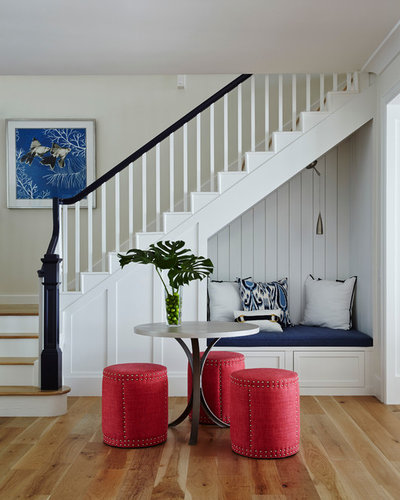 Beach Style Staircase by JMA INTERIOR DESIGN
