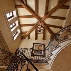 Mediterranean Staircase by Kurtz Homes Naples