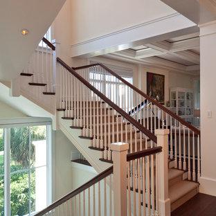 Aménagement d'un escalier exotique.