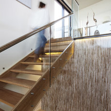Beach Style Staircase by Simpatico Interior Design