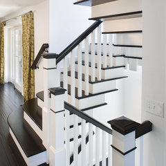 contemporary staircase by Bruce Palmer Interior Design