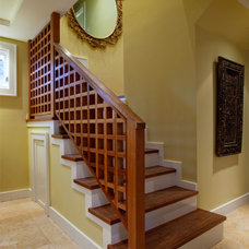Transitional Staircase by Sybil Jane Barrido, ASID, CID - SJVD DESIGN