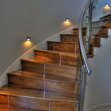 Contemporary Staircase by Lydia Lyons Designs