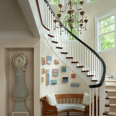 Traditional Staircase by Cottage Company Interiors
