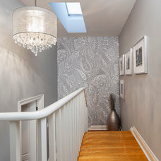 Transitional Staircase by Rad Design Inc