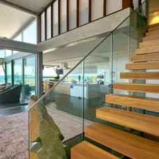 Beach Style Staircase by SBT Designs