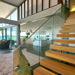 modern staircase by SBT Designs