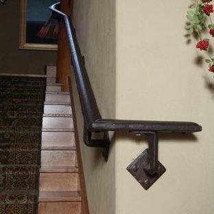Immagine di una scala rustica