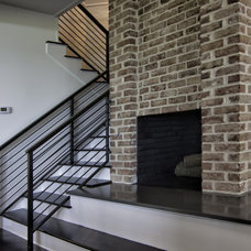 Eclectic Staircase by Allen Patterson Residential