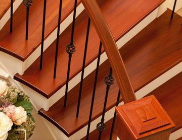 Beautiful Brazilian Cherry Stair Treads