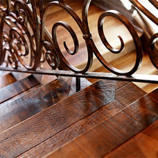 Contemporary Staircase by Signature Floors, Inc.