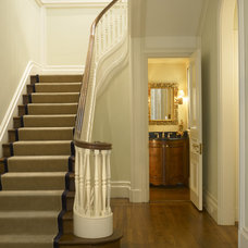 traditional staircase by Gast Architects