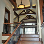 Sterling At Silverleaf Residence Transitional Staircase Phoenix By Luster Custom Homes