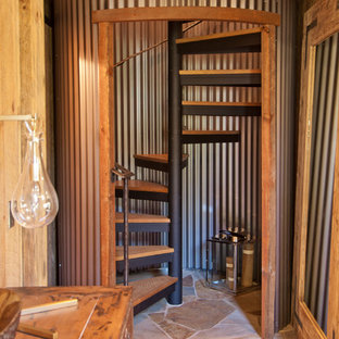 75 Rustic Spiral Staircase Ideas: Explore Rustic Spiral Staircase Designs,  Layouts, Ideas, Decorations U0026 Pictures | Houzz