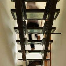 Industrial Staircase by Graham Baba Architects