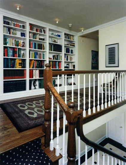 traditional staircase by Becker Architects Limited