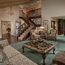 Traditional Staircase by Interior Affairs -- Vickie Daeley