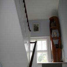 Traditional Staircase by HiRe Architects