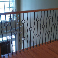 Contemporary Staircase by Stairway Makeovers