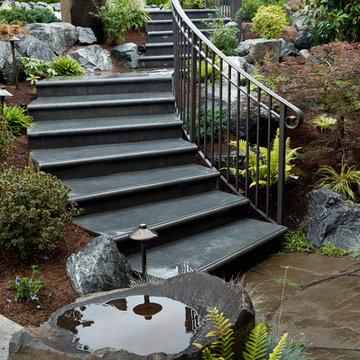 Bellevue Stairs in a Landscape Design
