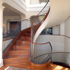 Traditional Staircase by Sutton Suzuki Architects