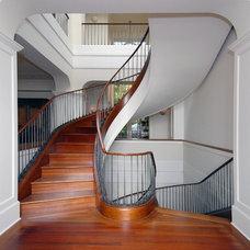 Traditional Staircase by Sutton Suzuki Architects